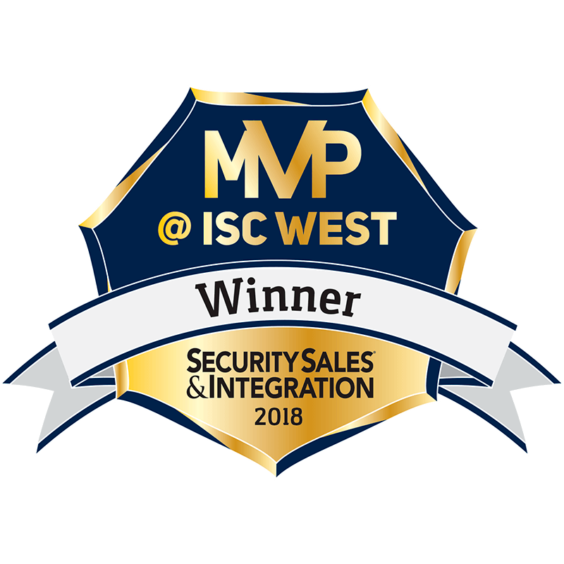 Winner of MVP @ ISC West by Security Sales & Integration for Fire/Life Safety