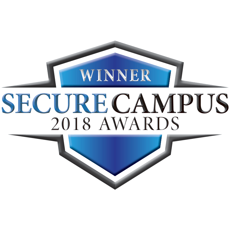 Platinum winner of Secure Campus 2018 Award for Fire & Life Safety