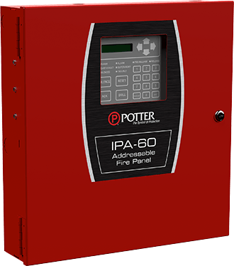 IPA-60 Fire Alarm Control Panel   Potter Electric on