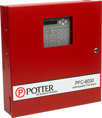 PFC Series Fire Alarm Control Panels | Potter Electric