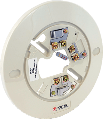 SB Series Conventional Smoke Detector Bases   Potter Electric on