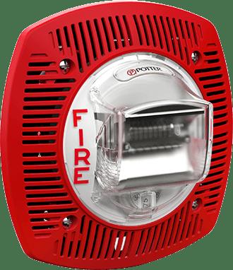 Spkstr 24wlp Series Low Profile Wall Mount Speaker Strobe